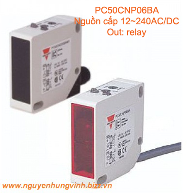 PC50CNP06BA  Cảm biến thu phát qua gương
