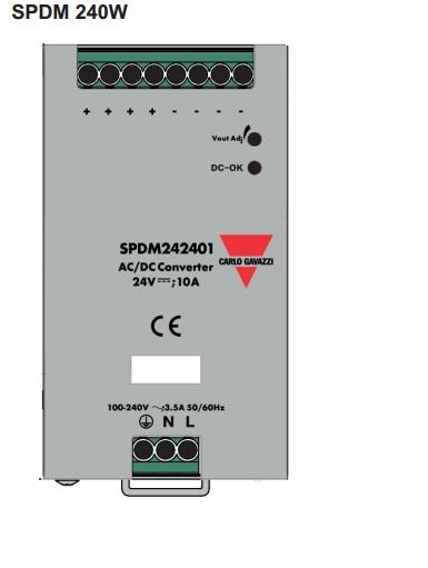 Bộ nguồn 24Vdc 10A SPDM242401