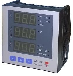 Đồng hồ quản lý năng lượng WM1496AV53DS