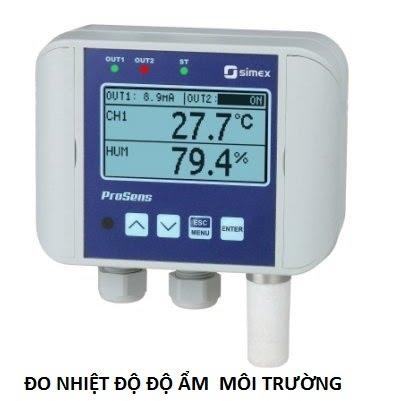 Cảm biến nhiệt độ, độ ẩm